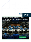 Annual and Extraordinary Shareholders' Meetings - 03.30.2015 - Practical Guide