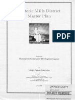 Historic Mills District Master Plan and Update