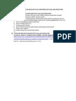 Contoh Reaksi Homogen Dan Heterogen Dalam Industri