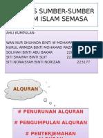Analisis Sumber-sumber Hukum Islam Semasa