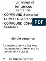 6 Types of Sentence