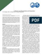 A Novel cased-Hole Density-Neutron Log Interpretation and Characteristics