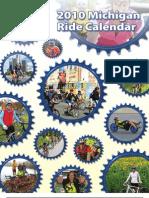2010 Michigan Ride Calendar