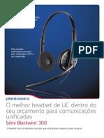 Blackwire 300 Product Sheet - Folheto (Portuguese LA) - Cópia