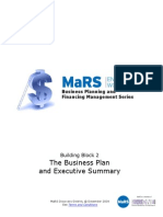 The Business Plan Executive Summary WorkbookGuide