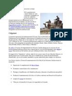 Fuerzas de paz de las Naciones Unidas.docx