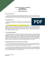 SEC Form 19-1