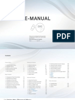 samsung e manual