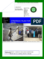 Centre of Excellence in Water and Sanitation Strategic Plan 2012-2016