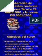 Elaboración de Documentos TR 10013