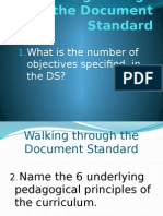 Walking Through the Document Standard