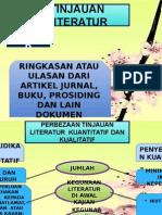 KRL 3033-TAJUK 5- TINJAUAN LITERATUR.pptx