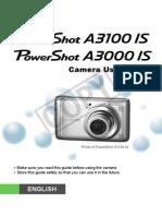Manual de Utilizare Canon A3000IS