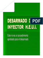 Desarme Inyector h.e.u.i.