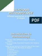 Religious Methodology