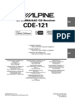 Alpine Cde121 Use