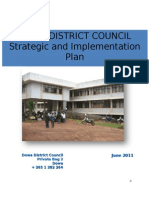 Dowa Strategic Plan Generic Report