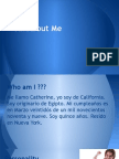 all about me- catherine matta