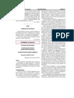 Disp. 226/2011 Secretaría de Ambiente y Desarrollo Sostenible de Neuquen