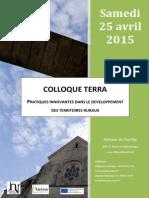 Colloque TERRA - Noirlac