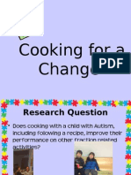 cooking for a change powerpoint for district science fair