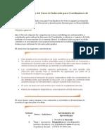 Encuadre didáctico del Curso de Inducción para Coordinadores de Sede2.doc
