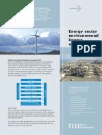 Energy Sector EIA