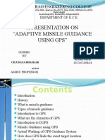 PPT on Adaptive missile guidance using gps