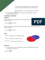 Ejercicios de Estadística Matemática