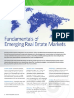 Fundamentals of Emerging Real Estate Markets