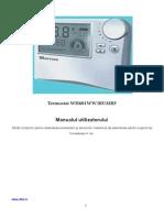 Manual cronotermostat GIERSCH WH 601 RF