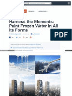 Harness the Elements Paint Frozen