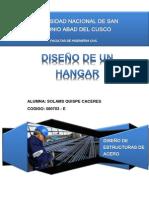 Diseño de Hangar de acero