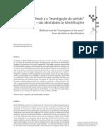 Maffesoli e a Investigação Do Sentido - Das Identidades Às Identificações