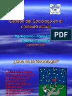 Gestión Del Sociólogo