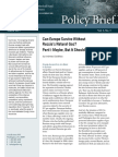 Can Europe Survive Without Russia's Natural Gas? Part I