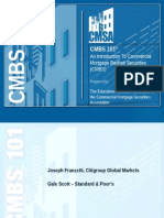 CMBS 101 Slides (All Sessions)