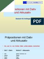 Prapositionen Mit D. Und a.