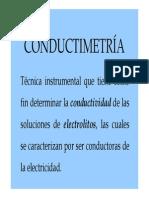 Presentación conductimetría 2011