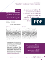 Dialnet- Aproximación teórica de la Acción Revocatoria Concursal