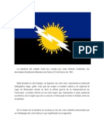 La Bandera Del Estado Zulia Fue Creada Por José Antonio Urdaneta