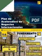 Acelera tu plan de negocios internacional