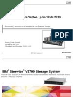 IBMStorwizeV3700 y Tapes Junio