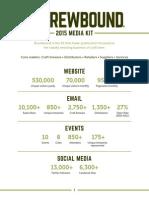2015 Brewbound Media Kit