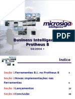 Business Intelligence – Protheus 8