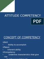 Attitude Competency