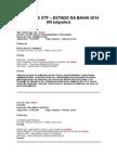 Jurisprudência Stf - Estado Da Bahia