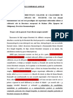 Eperienta Calatoriei - Virgil Podoaba Prima Serie