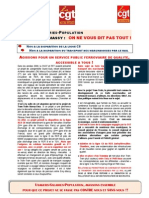 TTME Tract Aux Usagers Petition Carte Proposition CGT