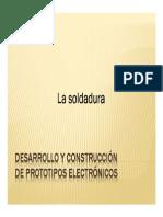 La Soldadura Electronica